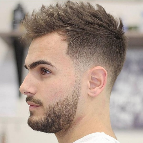 Mens Barber Haircuts