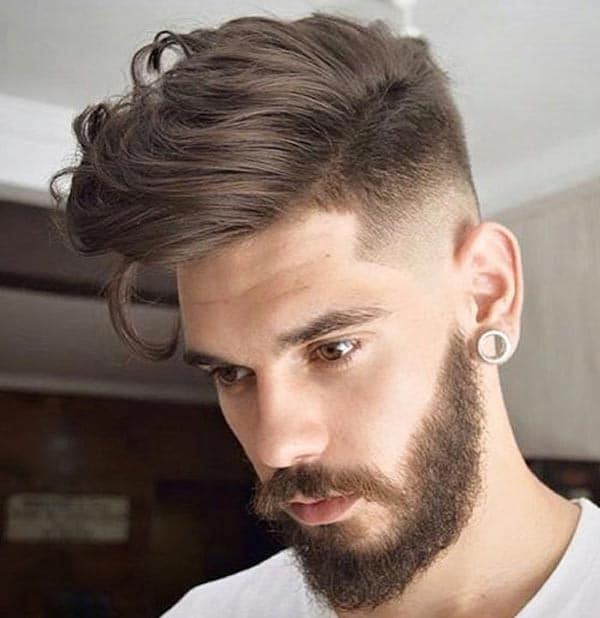 Mens Haircuts For Round Faces