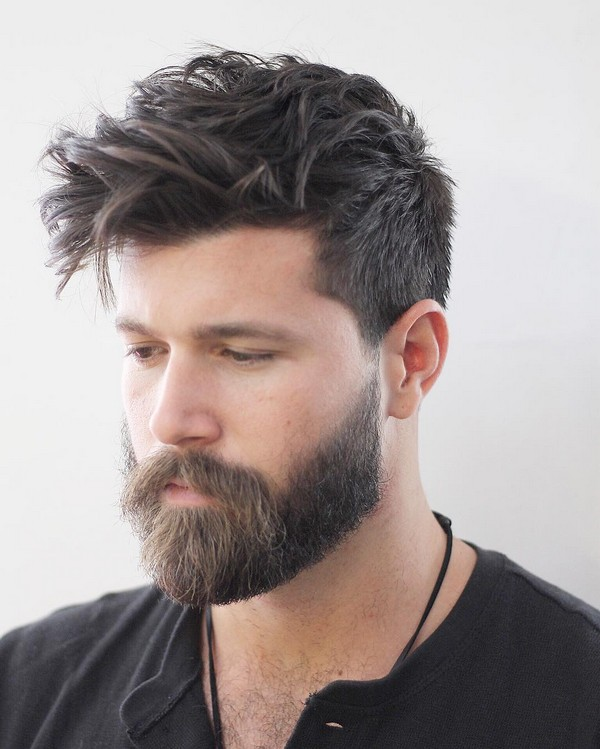 Mens Haircuts Round Face
