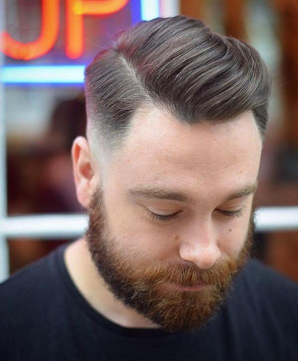 Mens Hairstyles Short Sides Long Top
