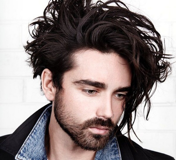 Mens Long Hairstyles Shaved Sides