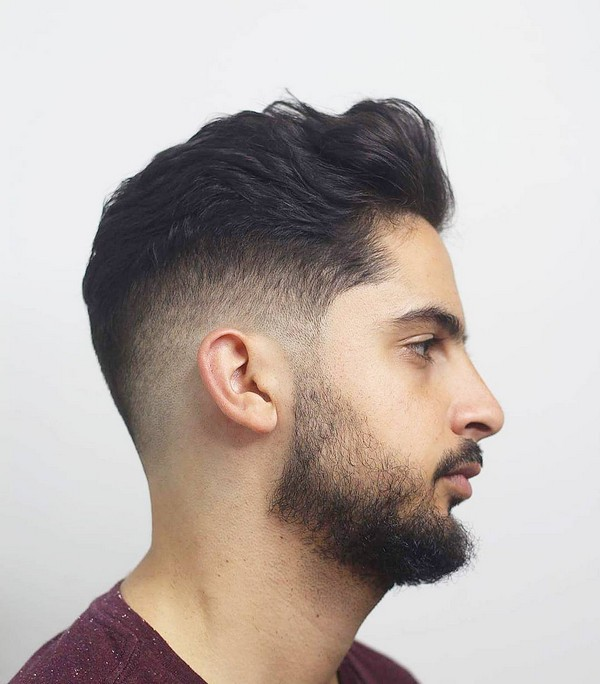 Mens Short Haircuts With Beards