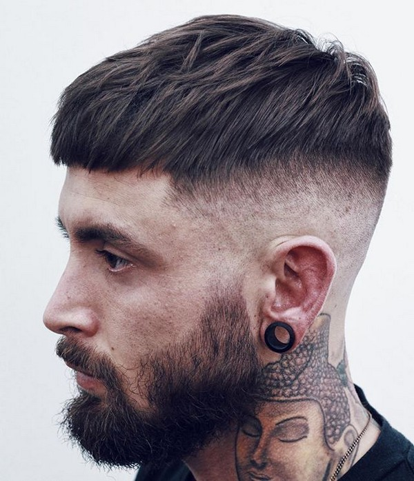 Thick Hair Mens Haircuts