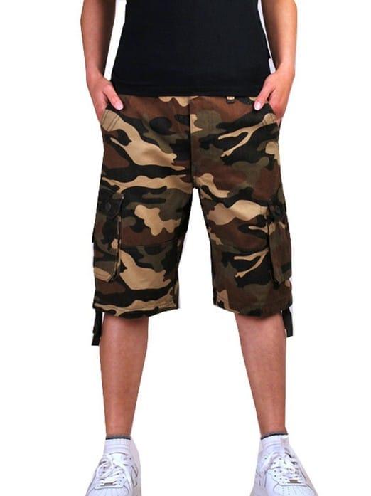 Meterde Mens Retro Cargo Shorts