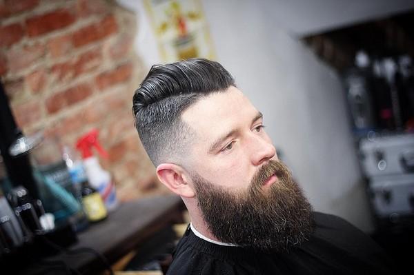 Black Male Full Beard Styles