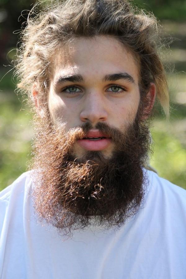 Black Man Full Beard Styles