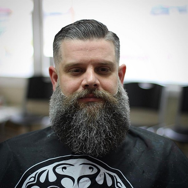 Full Beard No Mustache