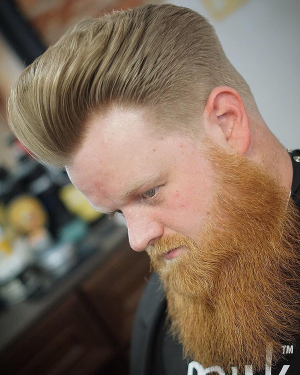 Full Beard Style Black