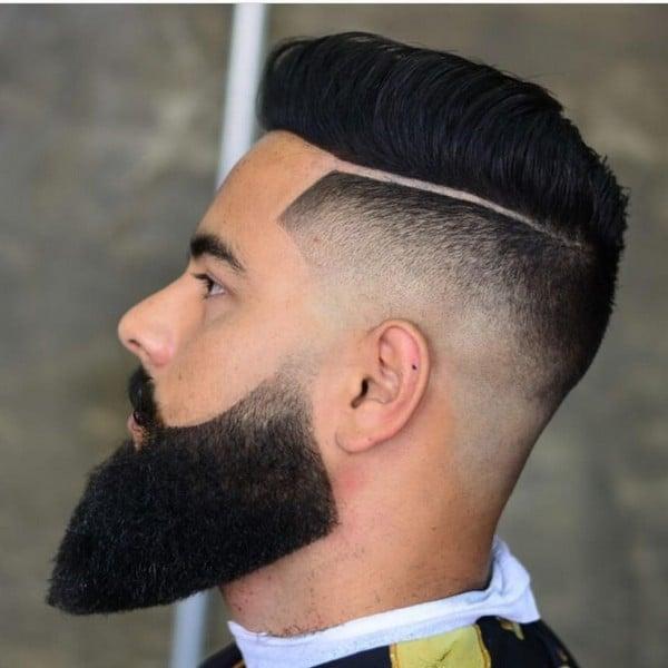 Full Beard Style How To Trim