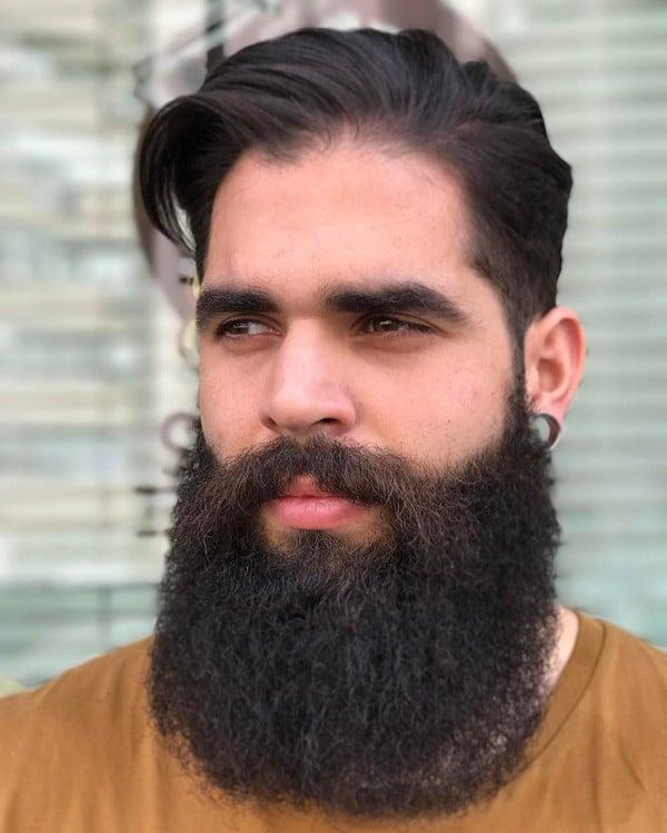 Full Beard Styles Black
