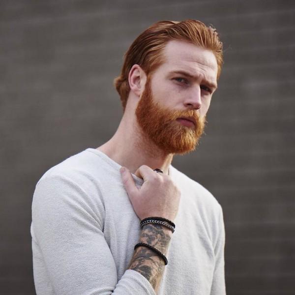 Full Beard Styles For Round Face