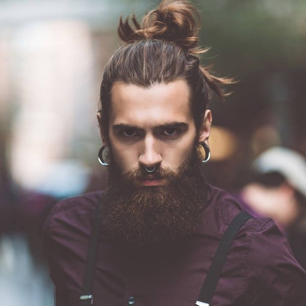 Full Black Beard Style