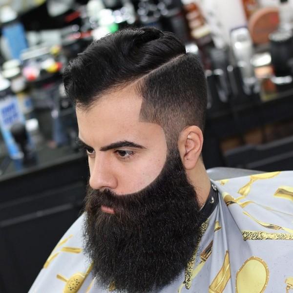 Full Short Beard Styles
