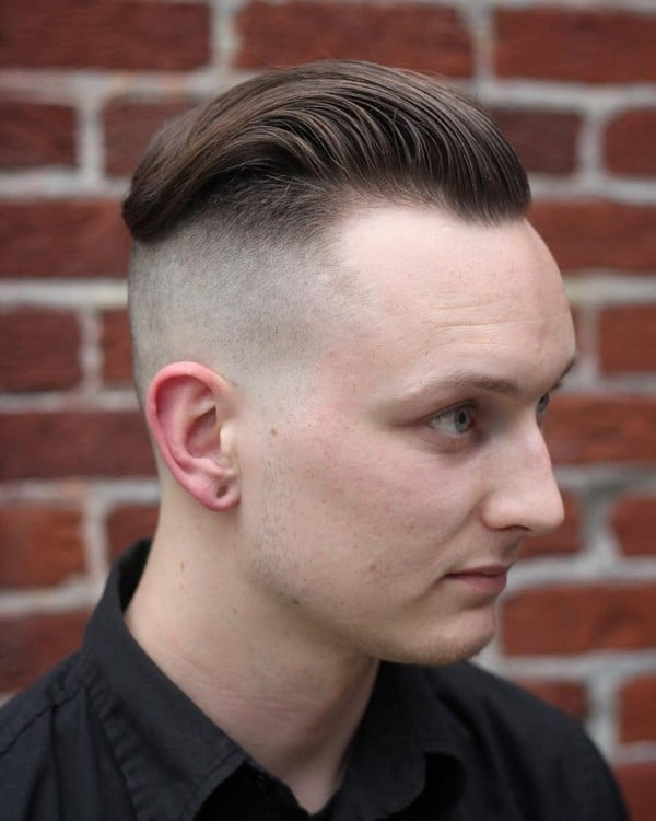 Medium Fade Military Haircut