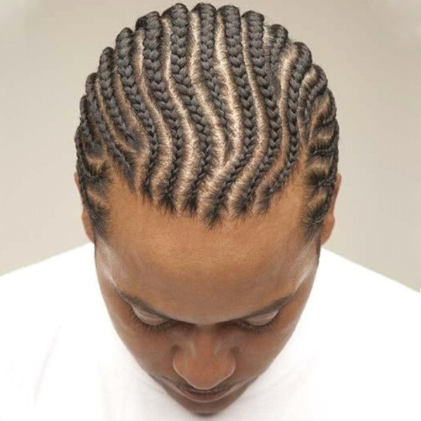 Mens Big Braids