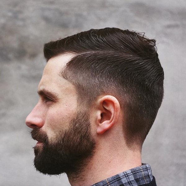 Mens Short Military Hairstyles