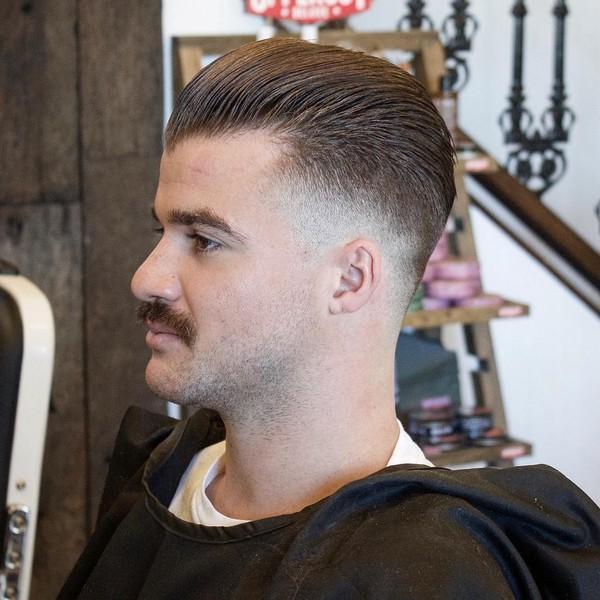 Military Haircut Long On Top