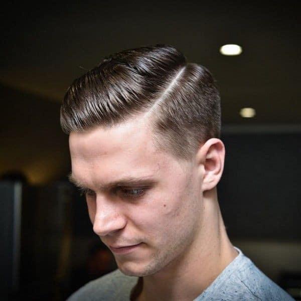 Military Medium Fade Haircut