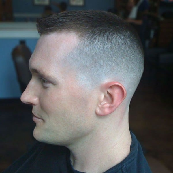 Military Style Haircut