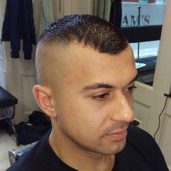 Pictures Of Mens Military Haircuts