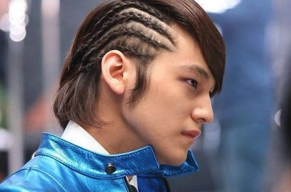Mens Braids Short Hair