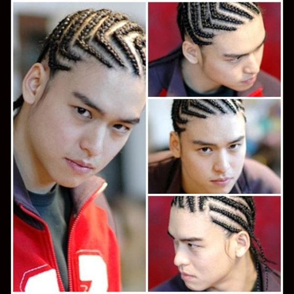 Mens Dutch Braids