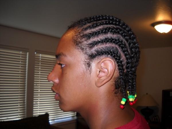 Mens Gangsta Braids