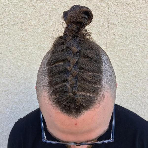 Mens Micro Braids