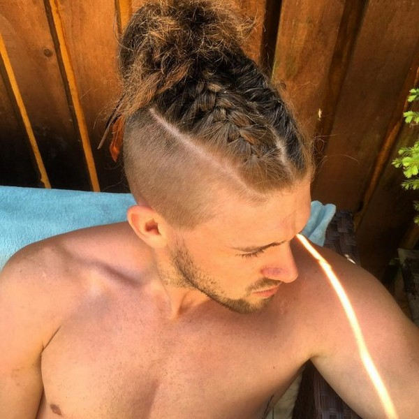 Mens Mohawk Braids
