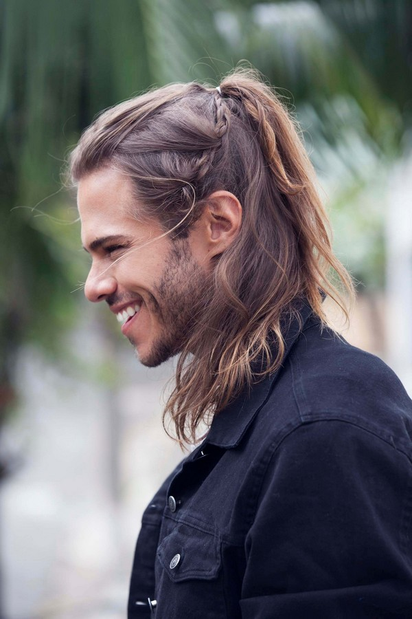 Mens Scalp Braids