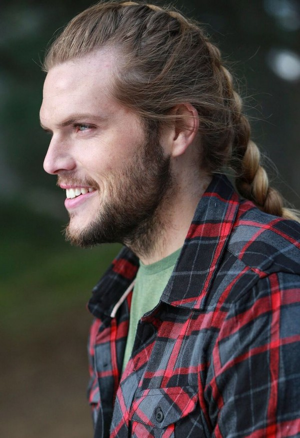 Mens Side Braids