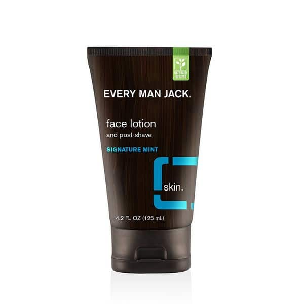 Mens Aftershave Balm As Primer