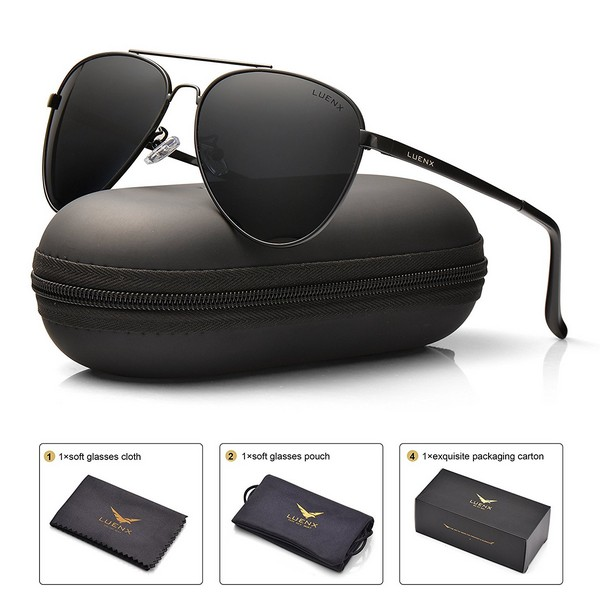 Mens Aviator Sunglasses