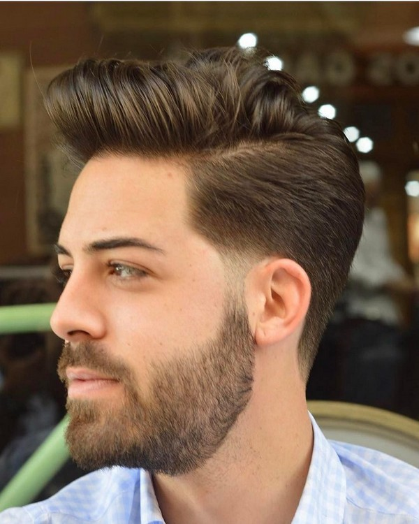 Mens Hairstyle Trends Quiff