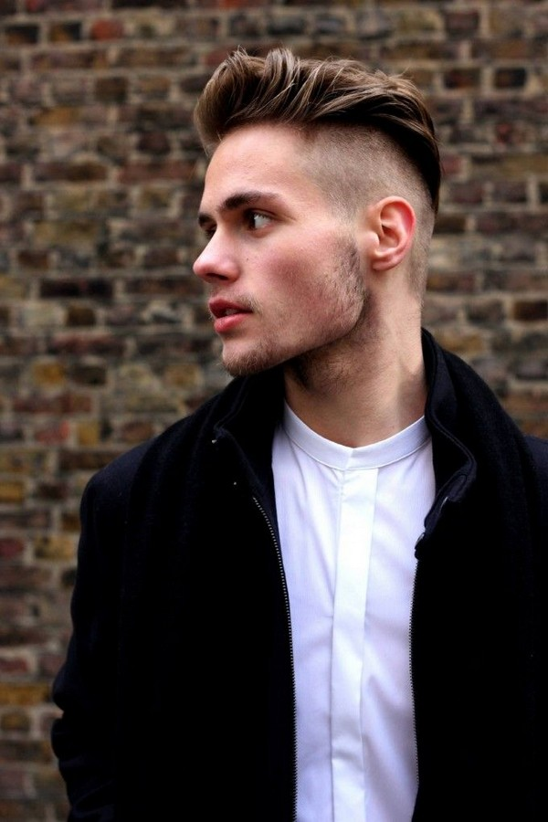 Mens Messy Quiff Hairstyle