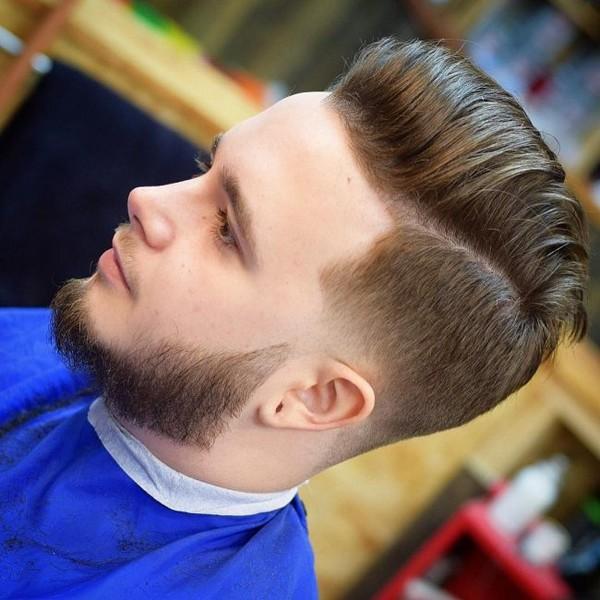 Mens Modern Quiff Hairstyle