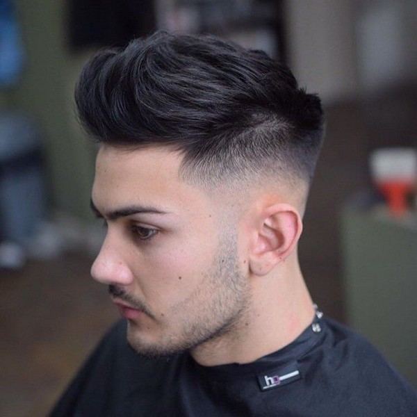 Quiff Haircut For Curly Hair