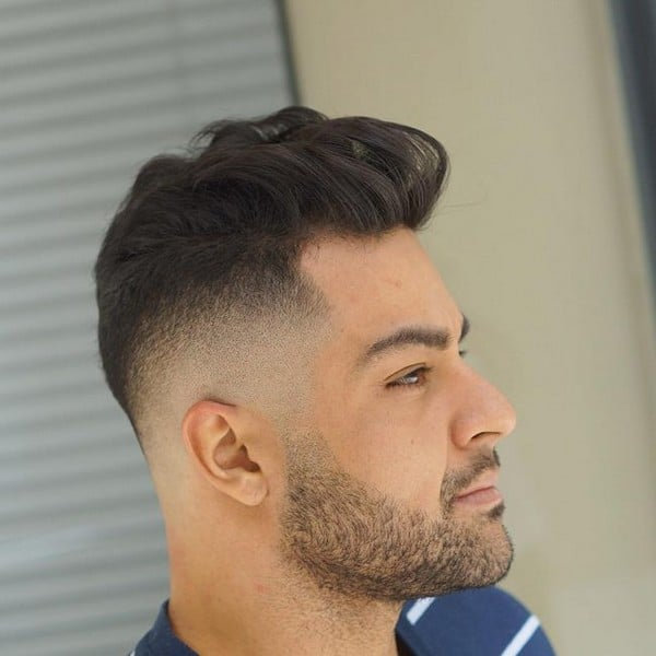 Quiff Hairstyle For Curly Hair