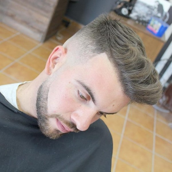 Quiff Hairstyle For Long Hair