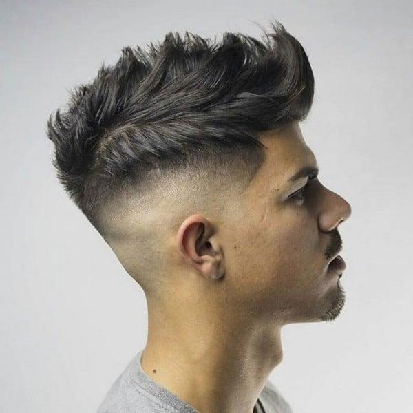 Quiff Hairstyle Receding Hairline