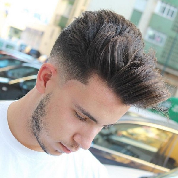 Quiff To The Side Hairstyle