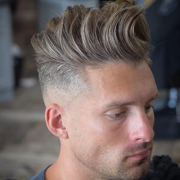 Quiff Undercut Hairstyle