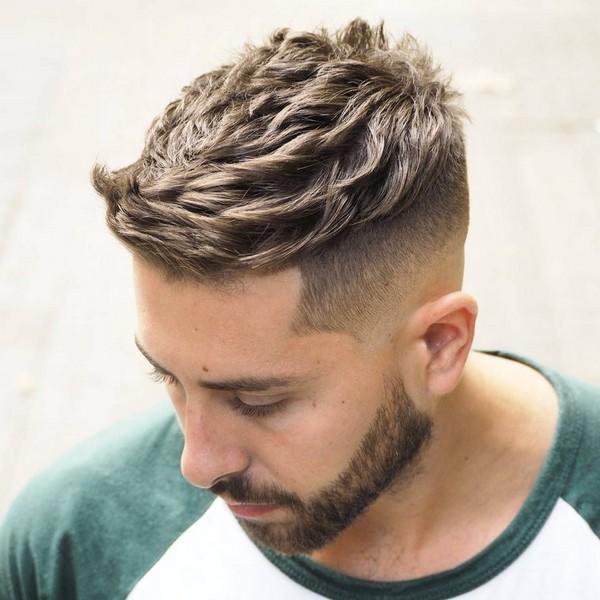 Short Quiff Men's Hairstyle