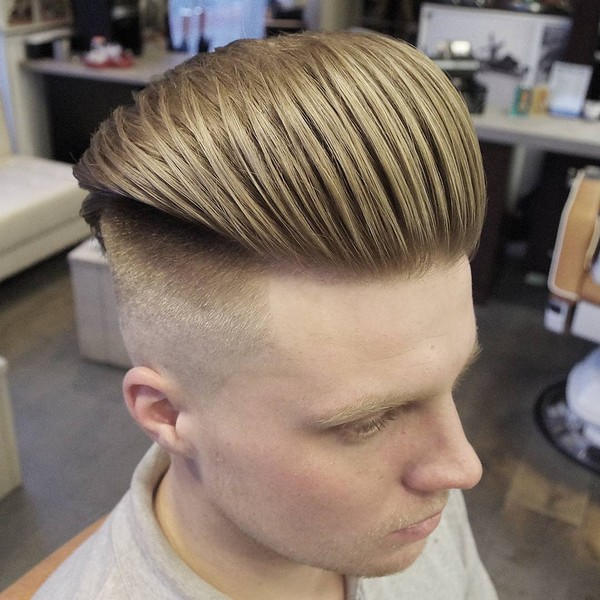 Side Quiff Hairstyle