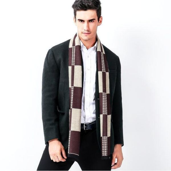 Extra Long Mens Scarf