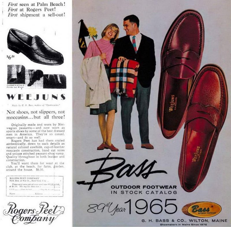 history of mens loafer shoes