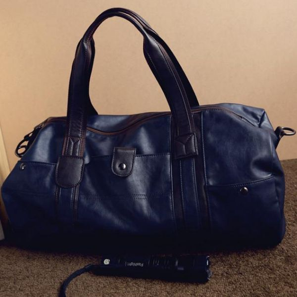 Italian Leather Weekend Bag