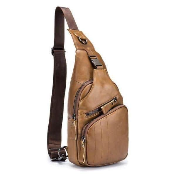 Leather Mens Crossbody Bag