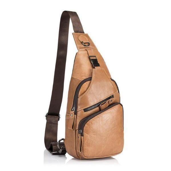 Mens Flight Crossbody Bag