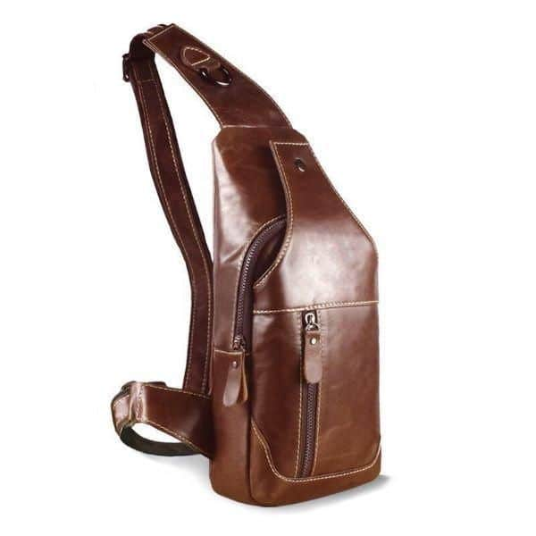 Mens Leather Crossbody Bag